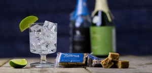 Buttermilk fudge flavoured with Tarquin's Gin The Buttermilk Confectionery Co.