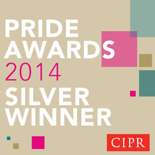 PRide 2014 Silver Button