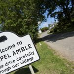 Chapel Amble sign