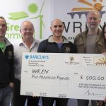 WREN donation to The Olde House
