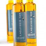 Bottles of Mrs Middleton's oil