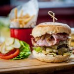 Food is served daily at all seven Three Cheers pubs.