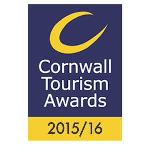 Cornwall tourism awards gold logo