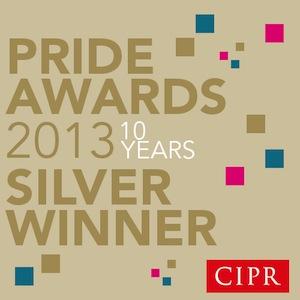 CIPR PRide award 2013