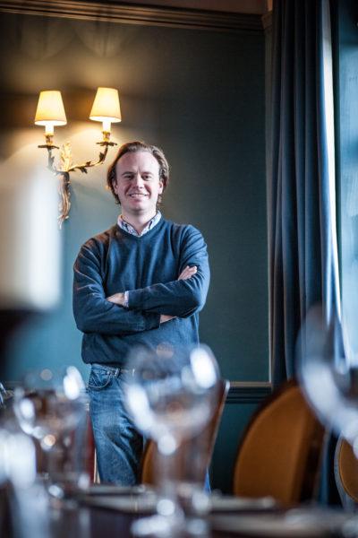Tom Peake, director of Three Cheers Pub Co. David Griffen