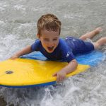 The Olde House and Wavehunters have teamed up to teach guests how to surf.