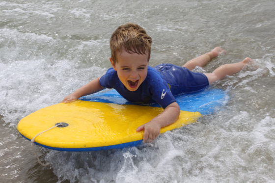 The Olde House and Wavehunters have teamed up to teach guests how to surf. The Olde House