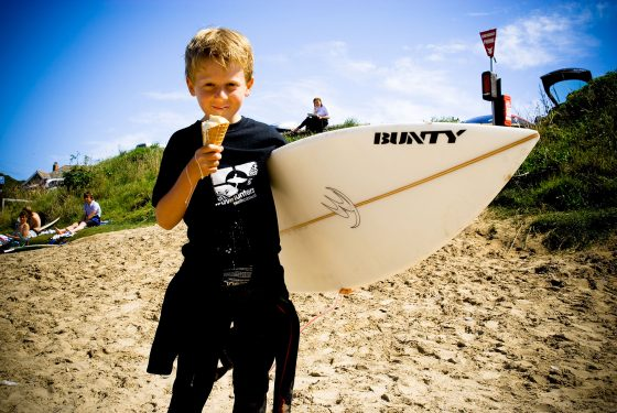 The Olde House and Wavehunters have teamed up to teach guests how to surf. Wavehunters