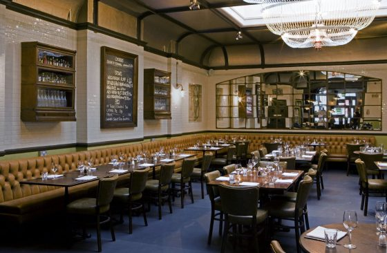 The dining room at The Avalon, Clapham South, part of Three Cheers Pub Co. Adam Ellis