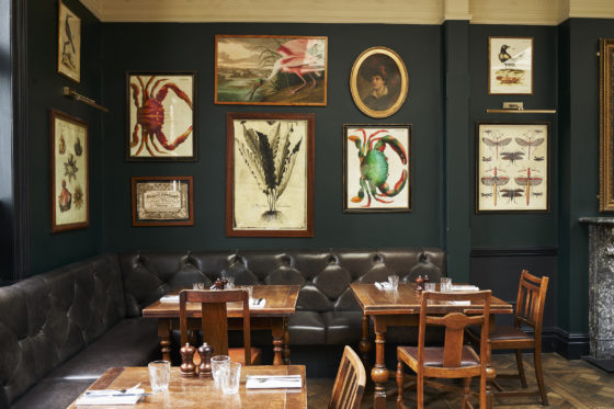 The dining room at The Princess Victoria Lisa Linder
