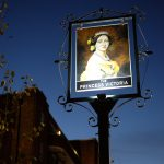 The exterior of The Princess Victoria in Shepherd's Bush, London.