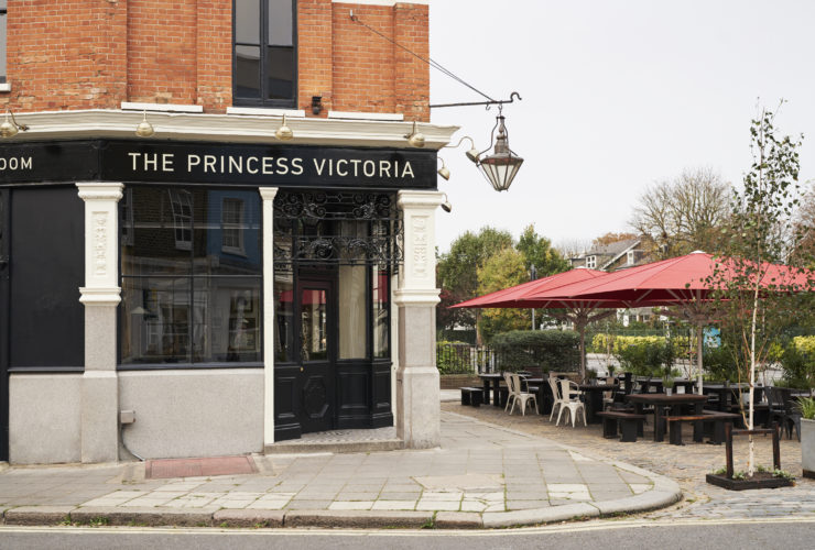 The Princess Victoria in Shepherd's Bush, London. Lisa Linder