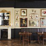 The bar at The Princess Victoria in Shepherd's Bush, London.