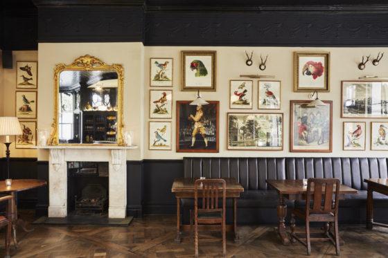 The bar at The Princess Victoria in Shepherd's Bush, London. Lisa Linder