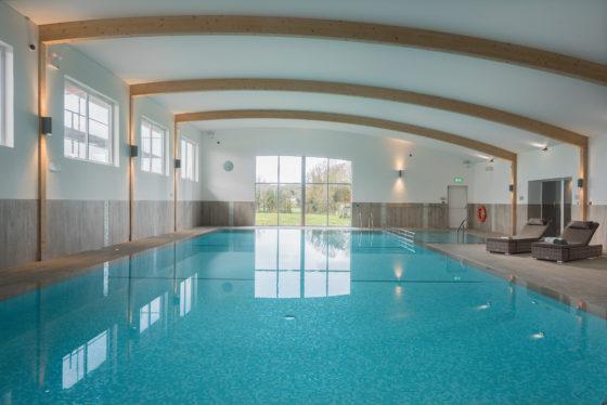 The swimming pool at The Olde House, north Cornwall. David Curran