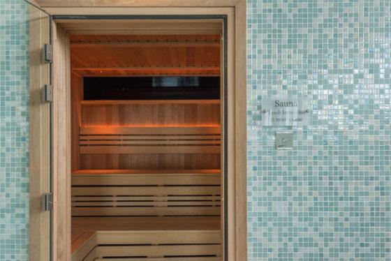 The sauna at The Olde House, north Cornwall. David Curran