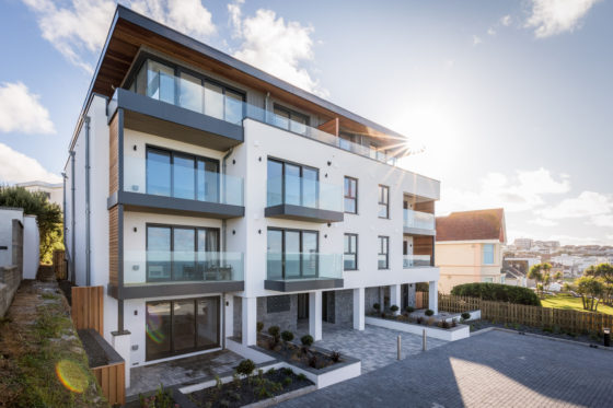 Fistral House, a Legacy Properties project in Newquay, Cornwall. Mike Searle