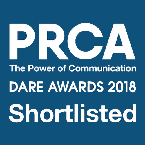 PRCA Dare Awards 2018 - Barefoot shortlisted