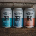 Canned beers from Harbour Brewing.