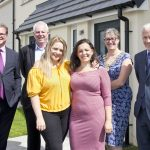Ocean Housing group chief executive with developer, local Mayor and residents.