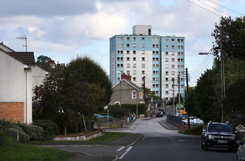 Park House flats, St Austell Tom Last