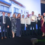 Legacy Properties team at the UK Property Awards 2018