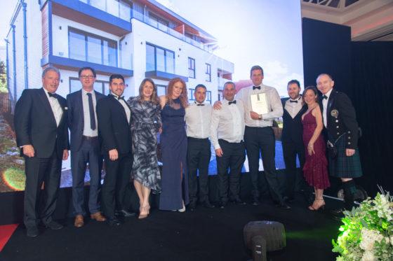Legacy Properties team at the UK Property Awards 2018 Lisa Lloyd