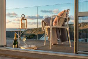 The Rocks, Holywell Bay balcony Mike Searle