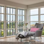 The Rocks, Holywell Bay living space