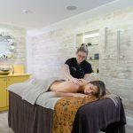 Massage treatment at The Headland Spa