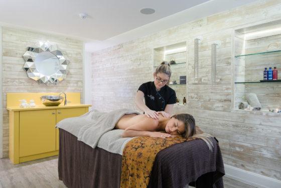 Massage treatment at The Headland Spa Guy Harrop