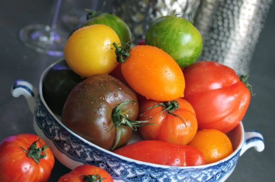 Fresh produce at The Headland Hotel Christopher Archambault