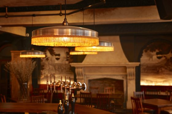 Restaurant bar area at The Bedford Johnny Stephens