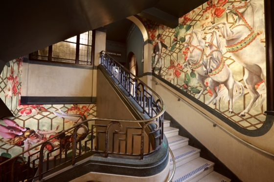Stairway at The Bedford Johnny Stephens