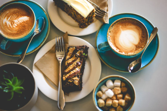 Coffee and cake at Una St Ives Una St Ives