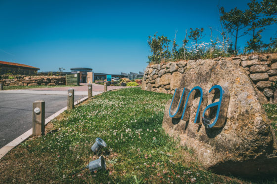 Entrance to Una St Ives Una St Ives