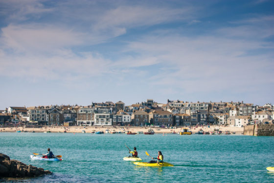 The surf break – surfing in St Ives Una St Ives