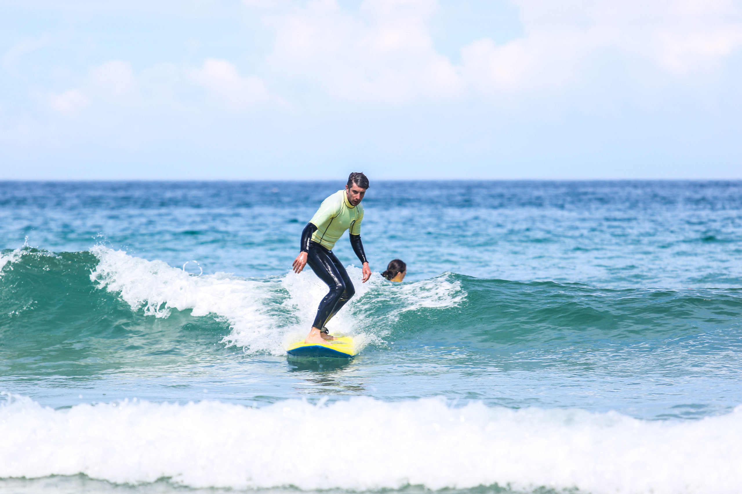 The surf break – surfing in St Ives