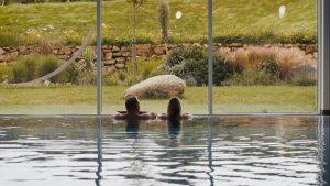 Luxury swimming pool at Una St Ives Una St Ives
