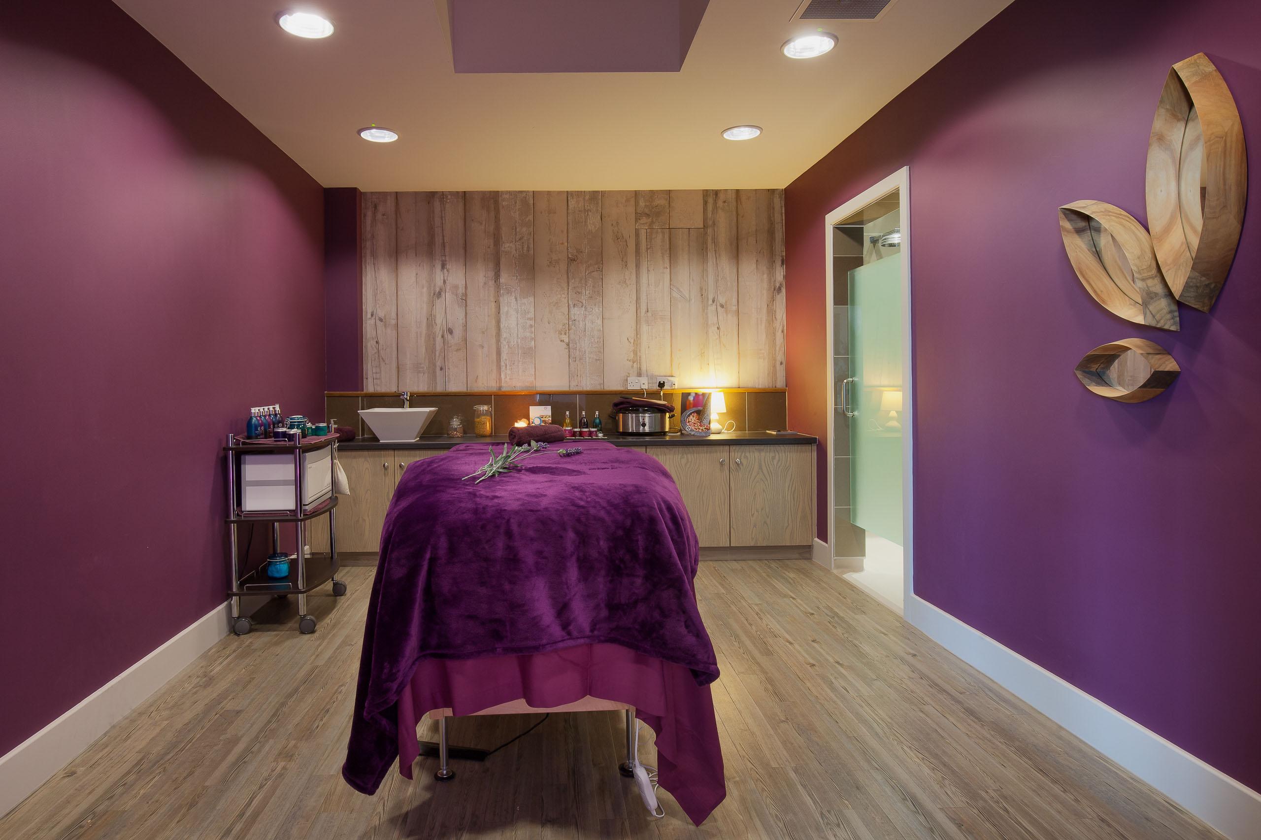 Treatment room at Una St Ives