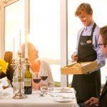 Samphire Restaurant at The Headland Hotel
