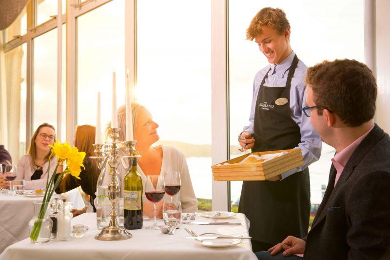 Samphire Restaurant at The Headland Hotel The Headland Hotel