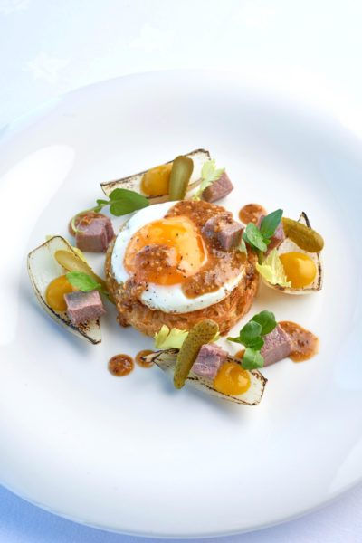 Light lunch at The Headland Hotel David Griffen