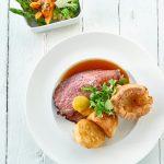 Sunday roast at The Headland Hotel