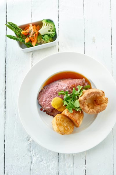 Sunday roast at The Headland Hotel David Griffen