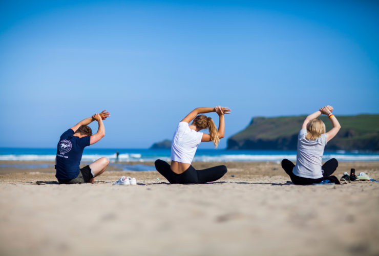 Yoga lessons at Porthilly Spirit Porthilly Spirit