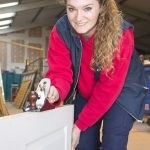 Ocean Housing Group carpentry apprentice, Daisy Herdman.
