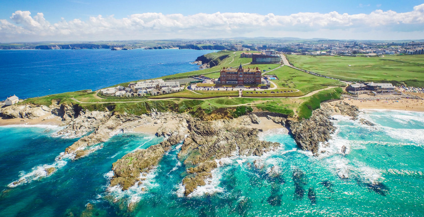 The Headland becomes Cornwall's first double-five star hotel