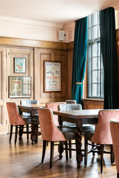 The private dining room at The Bedford in Balham Johnny Stephens