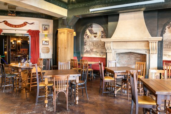 Main bar seating area at The Bedford in Balham Johnny Stephens